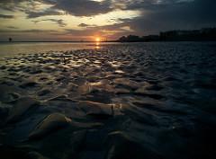 CC Low Tide Sunset by Richard Rutter